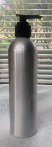 bullet bottle with pump